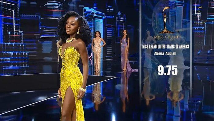 Fakta Menarik Abena Appiah pemenang Miss Grand International 2020