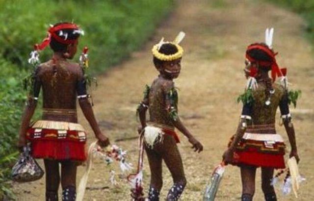 Kepulauan Kiriwina Timur Papua Nugini.